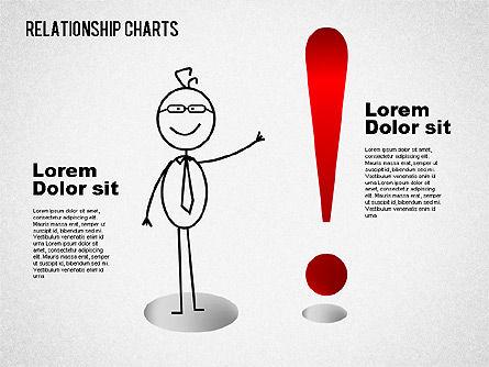 Business Relationships Diagram, Slide 10, 01448, Business Models — PoweredTemplate.com