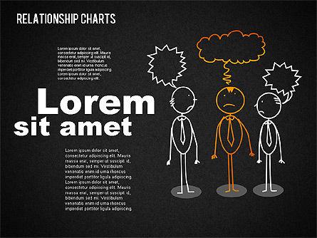 Business Relationships Diagram, Slide 11, 01448, Business Models — PoweredTemplate.com