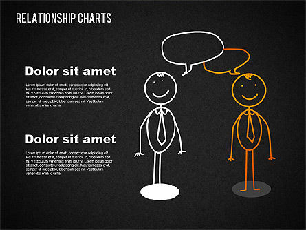 Business Relationships Diagram, Slide 13, 01448, Business Models — PoweredTemplate.com