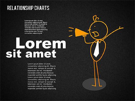 Business Relationships Diagram, Slide 14, 01448, Business Models — PoweredTemplate.com