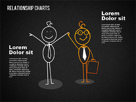 Business Relationships Diagram, Slide 15, 01448, Business Models — PoweredTemplate.com