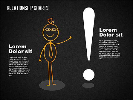 Business Relationships Diagram, Slide 16, 01448, Business Models — PoweredTemplate.com