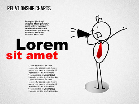 Business Relationships Diagram, Slide 3, 01448, Business Models — PoweredTemplate.com