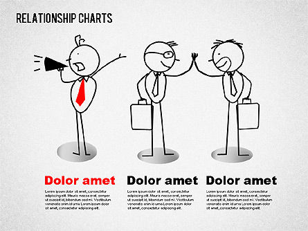 Business Relationships Diagram, Slide 5, 01448, Business Models — PoweredTemplate.com