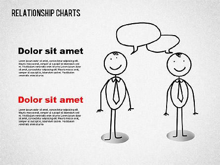Business Relationships Diagram, Slide 6, 01448, Business Models — PoweredTemplate.com