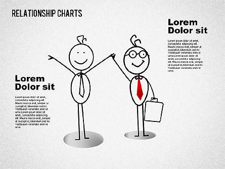 Business Relationships Diagram, Slide 7, 01448, Business Models — PoweredTemplate.com