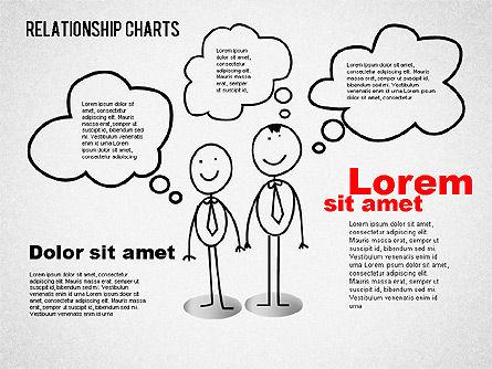 Business Relationships Diagram, Slide 8, 01448, Business Models — PoweredTemplate.com