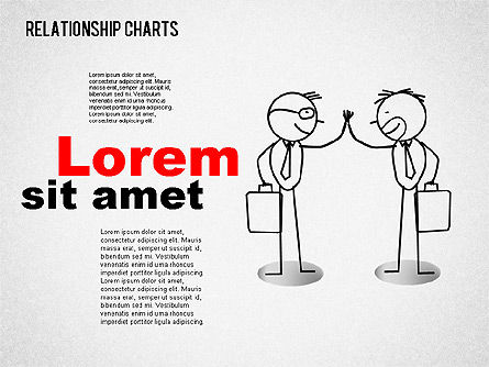 Business Relationships Diagram, Slide 9, 01448, Business Models — PoweredTemplate.com