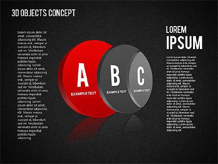3D Objects Concept , Slide 10, 01450, Business Models — PoweredTemplate.com
