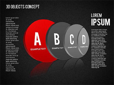 3D Objects Concept , Slide 11, 01450, Business Models — PoweredTemplate.com