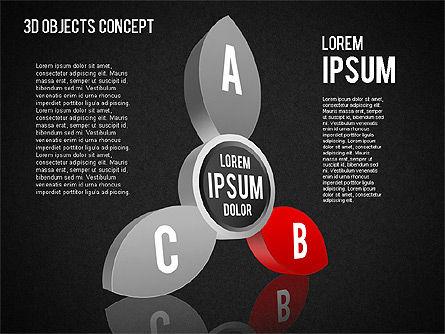 3D Objects Concept , Slide 14, 01450, Business Models — PoweredTemplate.com