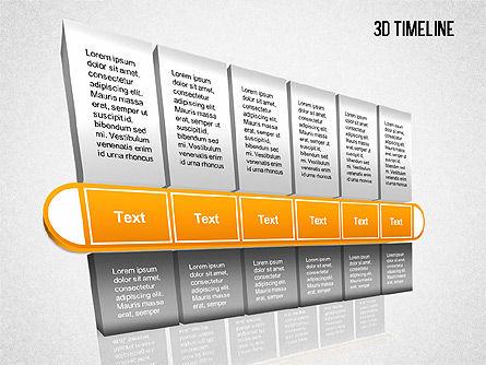 3D Timeline Slide 10