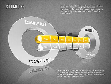 3D Timeline Slide 12