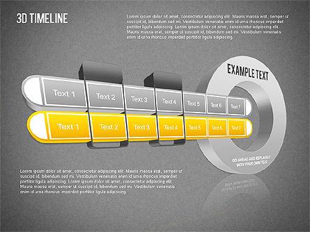 3D Timeline Slide 15