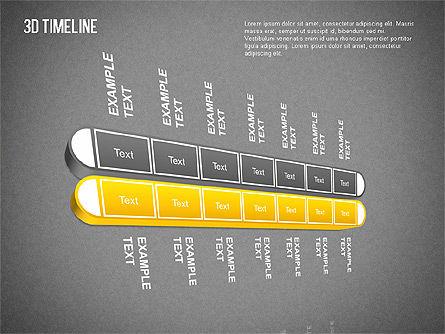 3D Timeline Slide 16