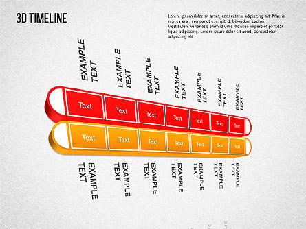 3D Timeline Slide 7