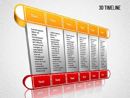 3D Timeline Slide 8