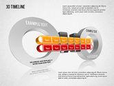 Timelines & Calendars: 3D Timeline #01456