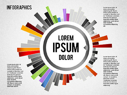 Collection d'infographies, 01459, Formes — PoweredTemplate.com
