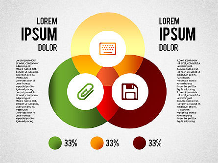 Infographics Collection, Slide 2, 01459, Shapes — PoweredTemplate.com