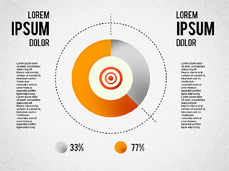 Collection d'infographies, Diapositive 4, 01459, Formes — PoweredTemplate.com