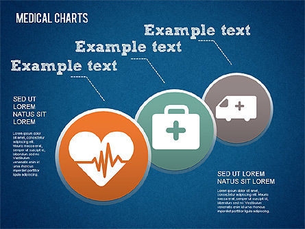 Medical Diagrams and Charts: Medisch proces charts #01463