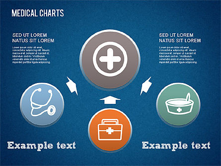 Medical Process Charts, Slide 2, 01463, Medical Diagrams and Charts — PoweredTemplate.com