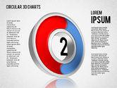 Circular 3D Charts#2
