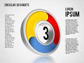 Circular 3D Charts#3