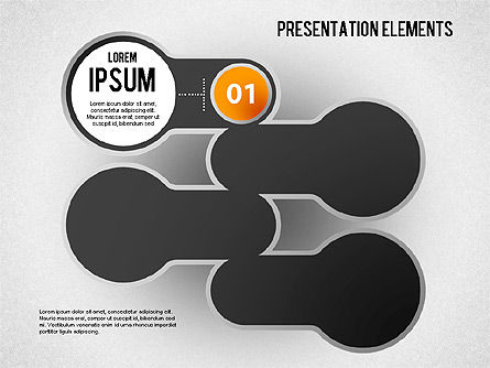 Presentation Elements, Slide 2, 01466, Stage Diagrams — PoweredTemplate.com