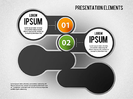 Presentation Elements, Slide 3, 01466, Stage Diagrams — PoweredTemplate.com