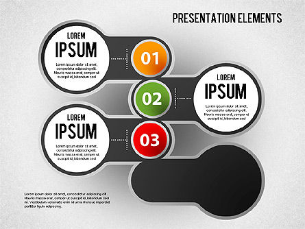 Presentation Elements, Slide 4, 01466, Stage Diagrams — PoweredTemplate.com