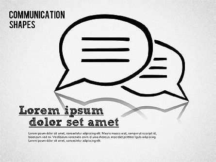 Shapes: Communication Shapes Toolbox #01467