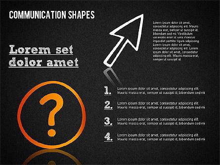Communication Shapes Toolbox, Slide 16, 01467, Shapes — PoweredTemplate.com