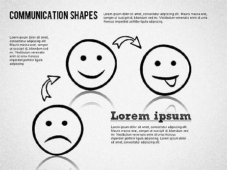 Communication Shapes Toolbox, Slide 5, 01467, Shapes — PoweredTemplate.com