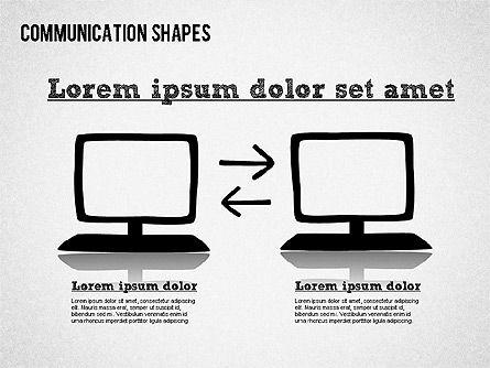 Communication Shapes Toolbox, Slide 6, 01467, Shapes — PoweredTemplate.com