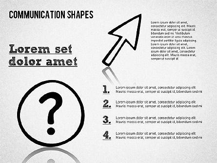 Communication Shapes Toolbox, Slide 8, 01467, Shapes — PoweredTemplate.com
