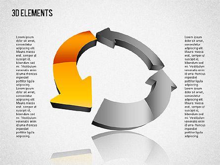 3D Shapes Toolbox 2, Slide 4, 01470, Shapes — PoweredTemplate.com