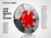 Puzzle Diagrams: Puzzle Shapes 3D #01473