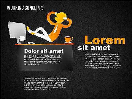 Office Work Concepts, Slide 11, 01475, Shapes — PoweredTemplate.com