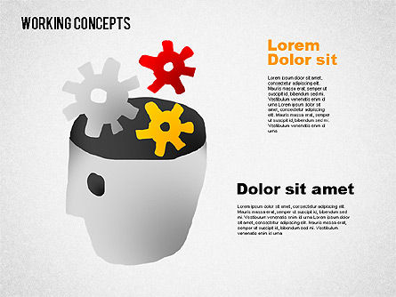 Office Work Concepts, Slide 2, 01475, Shapes — PoweredTemplate.com