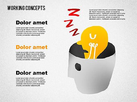 Office Work Concepts, Slide 8, 01475, Shapes — PoweredTemplate.com