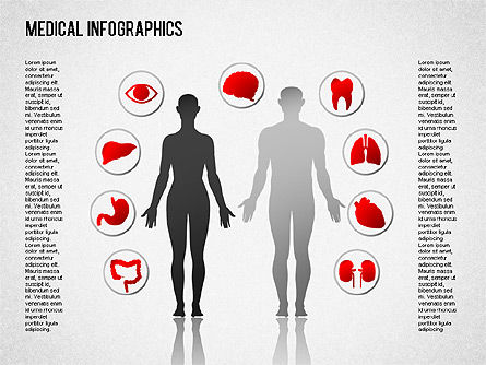 Medical Diagrams and Charts:  Infografia Médica #01478