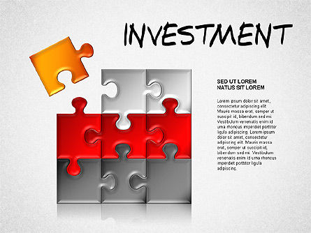 Investment Concept Diagram, Slide 2, 01479, Business Models — PoweredTemplate.com