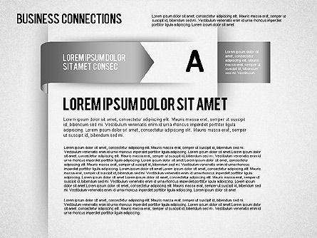 Origami Style Process Shapes, Slide 5, 01481, Stage Diagrams — PoweredTemplate.com