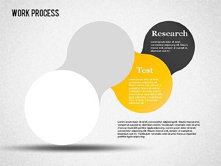 Work Process Steps, Slide 13, 01482, Process Diagrams — PoweredTemplate.com