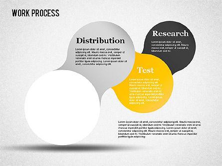 Work Process Steps, Slide 14, 01482, Process Diagrams — PoweredTemplate.com