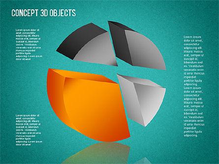 3D Objects Toolbox, Slide 11, 01485, Shapes — PoweredTemplate.com