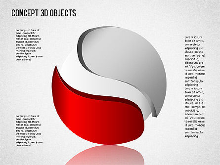 3D Objects Toolbox, Slide 4, 01485, Shapes — PoweredTemplate.com