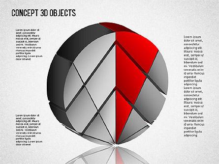 3D Objects Toolbox, Slide 6, 01485, Shapes — PoweredTemplate.com
